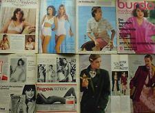 BURDA modes 78/10 Corsage 10 S BARBIE CORSELET costume soutien-gorge MAGAZINE 70er J