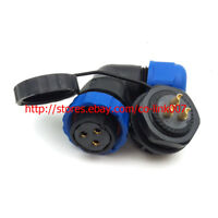 IP68 3Pin Waterproof Connector, SD20 Plug Socket automotive Connector