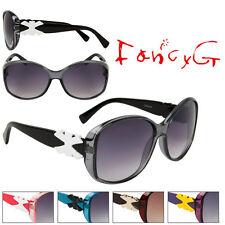 Unisex Fashion Sunglasses Stylish Bow UV 400 Protection x 12 Assorted