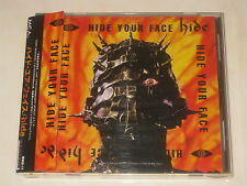 English CD hide hide your face made in japan with OBI
