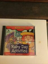 Madeline Rainy Day Activities Pc Cd kids learn thinking skills draw paint games!