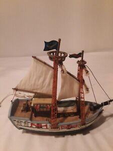 Lemax Golden Eagle Schooner lighted ship boat Christmas village