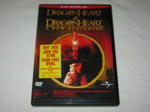 Dragonheart + A New Beginning - 2 Disc - VGC - Region 4 - DVD