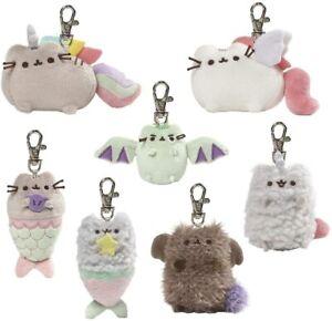 GUND Pusheen Surprise Plush Keyring Mystery Blind Box Series 6 Magical Kittens