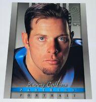 "1997 Donruss Studio Portraits 8""X10"" Kerry Collins #6 NFL Carolina Panthers Card"