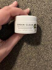 FARMACY Green Clean Makeup Meltaway Cleansing Balm, Travel Size .4 oz / 12 mL