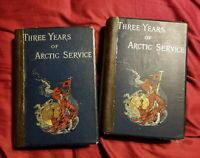 Three Years Of Artic Service, Volumes 1 and 2, 1885 Hb