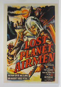 Lost Planet Airman Shrink Wrapped Movie Poster Reproduction