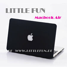 "Macbook Hülle Hard Case mit Logo Cover für Apple Macbook Air 11 "" Schutz Schwarz"