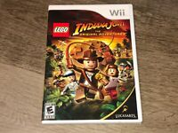Lego Indiana Jones The Original Adventures Nintendo Wii Complete CIB Authentic