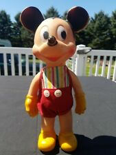 Mickey Mouse Vintage Sun Rubber Company Squeaker Toy