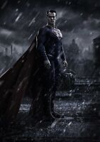 SUPERMAN Movie PHOTO Print POSTER Film Art Henry Cavill Man Of Steel Batman 001