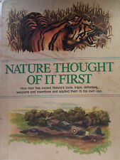 Nature Thought Of It First Education Book Illustrated Children Fun CREATIVE Kids
