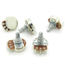 Pxyelec 5pcs Full Size B250k Long Split Shaft 18mm Electric Guitar Bass Volum...