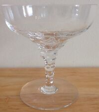 Orrefors Sweden Crystal CARINA Glass Champagne Tall Sherbet 4 3/8""