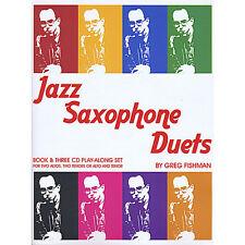 Greg Fishman - Jazz Saxophone Duets [New CD]