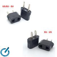 ADAPTADOR Enchufe US / EU - EU, EU - US PLUG Europeo adapter conector 220 - 110V