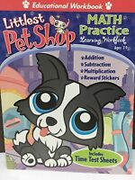 Lot of 10 Littlest Pet Shop Learning Math Practice Skills reward stickers Add