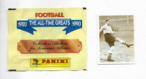 PANINI Football The All Time Greats 1920-1990 unopened packet + #12 Ted Drake