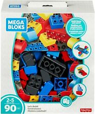 Mega Bloks Let's Build 90 Piece Gift  SetAge 2-5 Years 90 Pieces Fisher Price