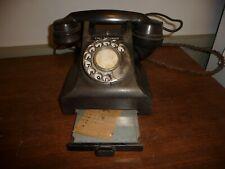 Bakelite GPO 312F Telephone / GPO 312F Call Exchange Telephone with drawer (2