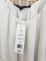 french connection white strappy maxi dress with self tie belt size 12