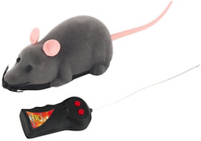 Mouse Robotic Electronic Remote Control Rat Cat Toy (Grey)