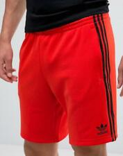 LARGE adidas Originals  Men's Fitted  SUPERSTAR TRACK SHORTS  Core Red  1AVL