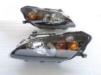 Projector Headlights Headlamps Amber Corner For-04~2005~2006-09 Honda S2000 AP2