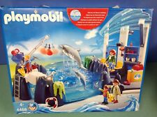 PLAYMOBIL O22112 ZOO Support Gris 9cm Toit Verrière Bassin Dauphin 4468