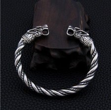 Wolves Viking Bracelet - Stainless Steel | Arm Ring | Torc | Viking Jewelry