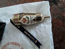 6 Royal Crown Derby Navidad Bolas Nuevo