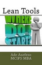 Lean Tools by Ade Asefeso McIps Mba (Paperback / softback, 2014)