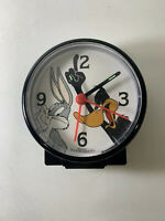 Vintage 1994 Looney Tunes Westclox Alarm Clock Bugs and duck