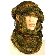New Large 180x80cm Flecktarn Scrim Net Scarf