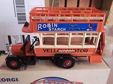 corgi classic neuf thornycroft bus yelloways