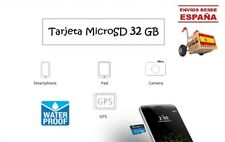 Tarjeta MicroSD 32 GB Clase 10 Calidad 3.0 Resistente agua y alta temperatura