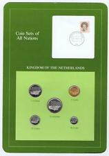 Kingdom of the Netherlands 5 pc Mint Set BU Coin Sets of All Nations stamp