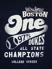 Jack & Jones Denims Boston Dukes 1975 Baseball College Series Reissue T Shirt S