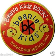 "SKANSEN BEANIE KID ""WHITE RABBIT ( 3 OF 4 ) THE BEAR""  MINT WITH MINT TAG"