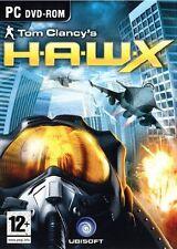Tom Clancy's H.A.W.X. (PC DVD) Nuevo Sellado Delgado Estuche Hawk