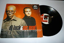 "DJ LUCK & MC NEAT - Piano Loco - 2001 UK 3-track 12"" Single"