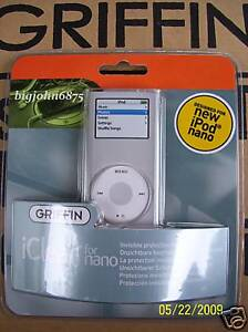 Griffin iClear Case for iPod Nano 2G