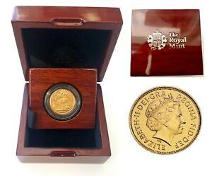 2000-2015 Queen Elizabeth II Gold Sovereigns BUNC + Capsulated with Luxury Case