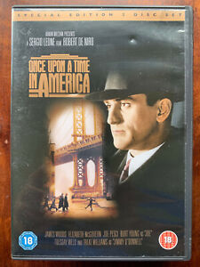 Once Upon a Time In America DVD 1984 Gangster Crime Classic w/ Robert De Niro