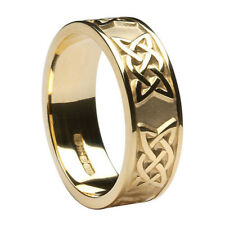 Ring size 8 Ireland Love Knot 10K Yellow Gold Celtic Lover's Knot Wedding