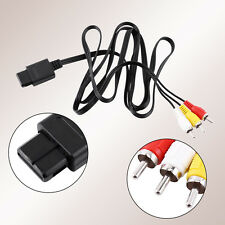 FOR SNES NINTENDO N64 TV GAME AUDIO VIDEO AV CABLE CORD WIRE