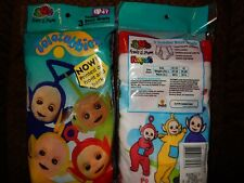 Vintage Nwt Size 4 Teletubbies 3 Pair of Briefs Fruit of the Loom Underwear