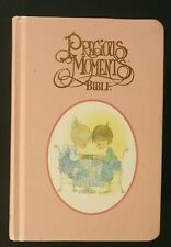 1984 Precious Moments Bible Nkj New King James pink cover