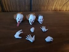 Neca It Pennywise Heads and Assessories  Both Versions